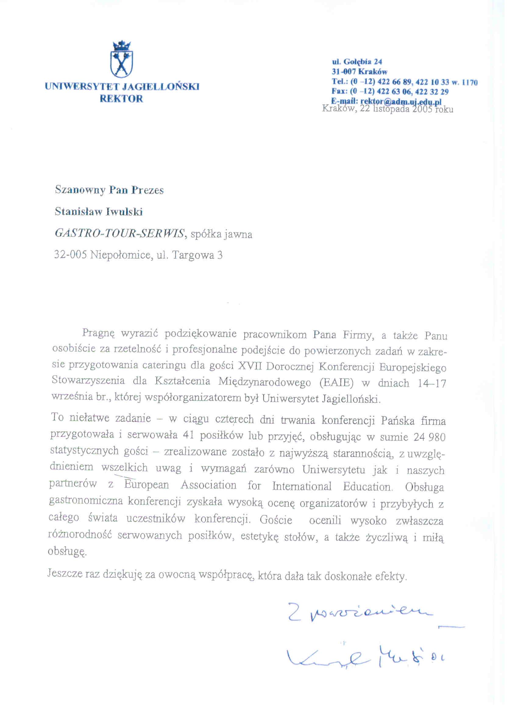referencje_Uniwersytet_Jagiellonski