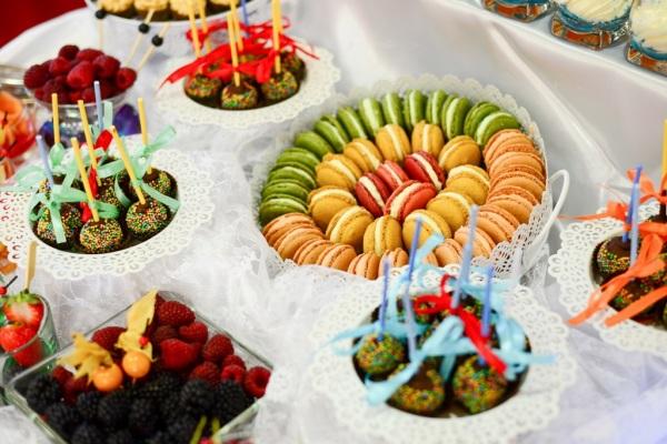 Deser - catering na przyjęciu w Krakowie