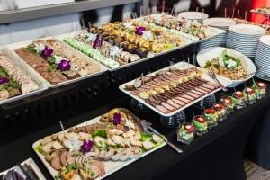 Potrawy na imprezie firmowej