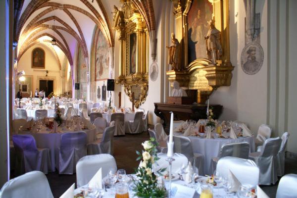 przyjęcie u Franciszkanów