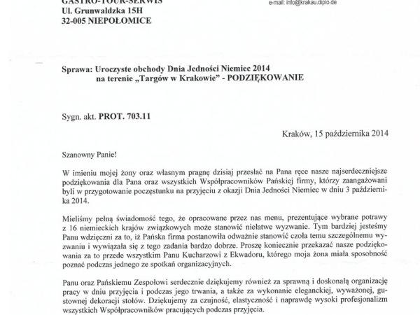 referencje konsulatu niemiec