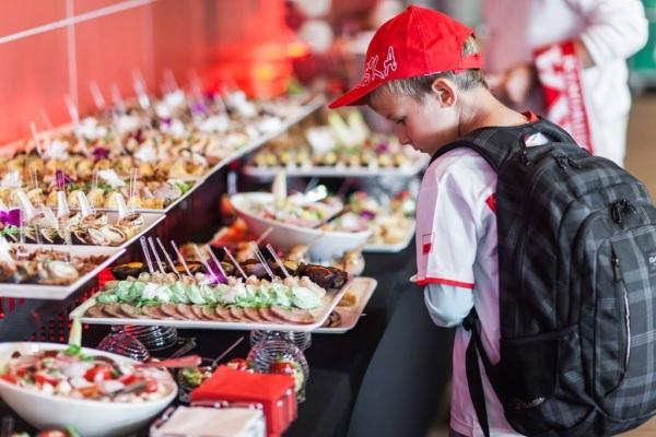 potrawy podczas cateringu